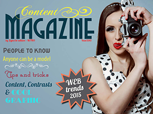 Content magazine forside