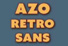 Azo font