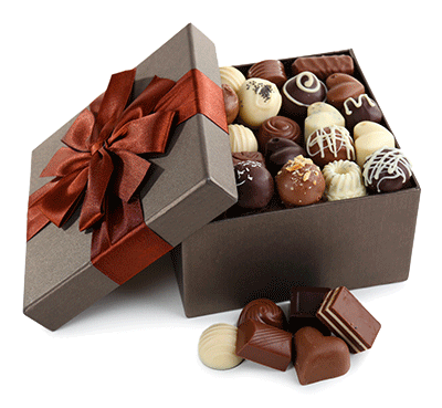chokolade-blandede