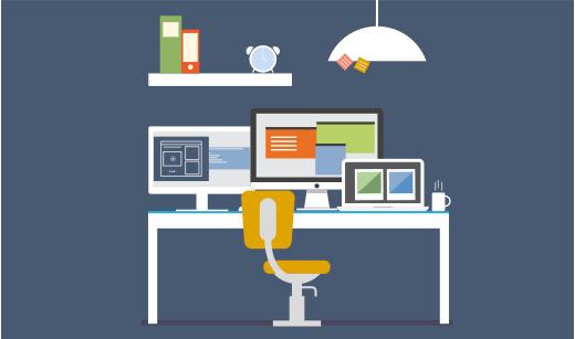 Content marketing arbejdsplads