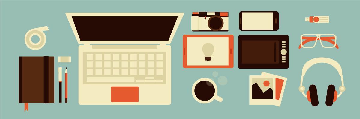 Grafisk designer værktøjer