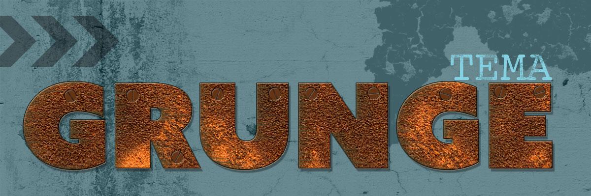 Grunge cover slidt og beskidt med stil Zigns