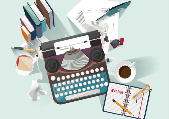 Skriv ansøgninger skrivebord