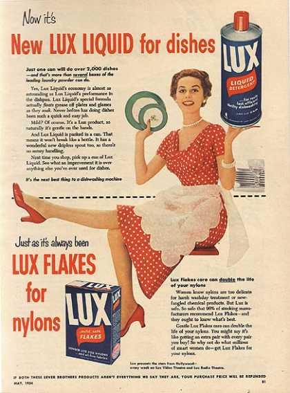 Billede fra vintageadbrowser.com LUX